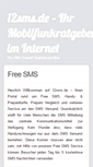 Mobile Preview of 12sms.de